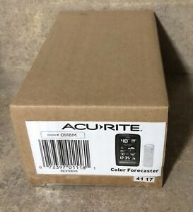 Acurite Color Forecaster With Remote 01118M Brand New