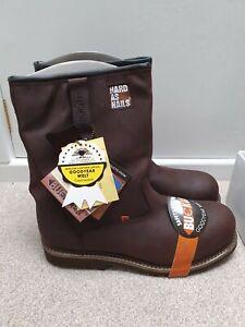 Buckler B601 Steel Toe Midsole Rigger Safety Boots Mens UK12 EU46