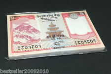 NEPAL 5 RUPEE UNC BUNDLE 100 PCS