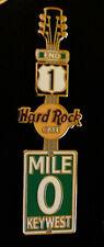 Hard Rock Cafe Key West - Zero Mile Marker Guitar