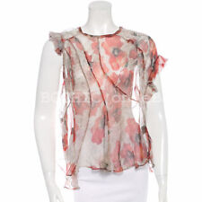 Dry-clean Only Floral 100% Silk Tops & Blouses for Women
