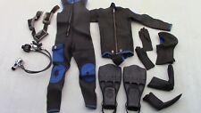 Aqua Lung Suit, Scuba Pro fins, Dacor Regulator, Aqua Craft belt, King Neptune