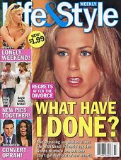 LIFE & STYLE WEEKLY MAGAZINE September 12, 2005 9/12/05 JENNIFER ANISTON C-3-2