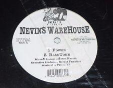 """Jason Nevin~Nevins Warehouse~1995 House~Electronic~Electro~12"""" Single~FAST SHIP!"""