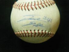David Dahl Rockies All Star autographed game used Pioneer League baseball
