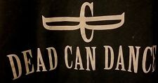 DEAD CAN DANCE North American Tour 2012 T-Shirt Size XL GOTH Rock