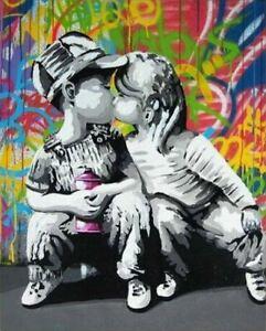 Abstract Canvas Art Street art Wall Art Graffiti Canvas Painting Print