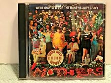 Frank Zappa CD We're Only in It For the Money/Lumpy Gravy, RCDE 40024, 1986