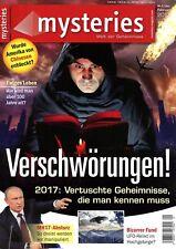 Zeitschrift MYSTERIES Nr. 1_2017, Verschwörungen; Ewiges Leben; MH17-Absturz