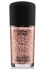 MAC Studio Nail Lacquer Nail Polish OVER ACCESSORIZED Pink Glitter NEW BOX