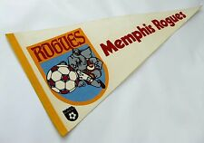 "VINTAGE NASL MEMPHIS ROGUES SOCCER PENNANT, 1978 FULL-SIZE 30"", NEAR MINT"