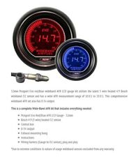 Genuine Prosport Evo 52mm Red Blue Gauge Wideband AFR Air Fuel with sensor
