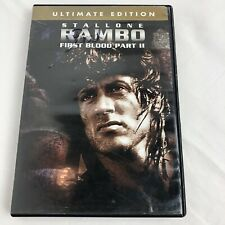 Rambo First Blood Part 2 DVD, Sylvester Stallone