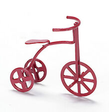 12th scale Dolls House Toy Red Tricycle Im66020