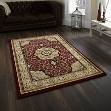 Think Rugs Heritage 4400 Traditional Hand Carved Rug Red W200cm X L290cm