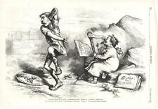 Thomas Nast - Self Portrait - Where there is Evil - There is Remedy   -1873