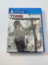 Tomb Raider: Definitive Edition - ps4 * New Sealed * PlayStation 4 Lara Croft