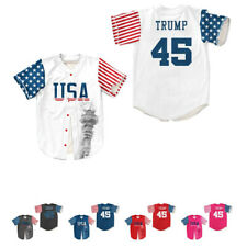 2020 Trump #45 USA Baseball Jerseys Keep American Great Again 5 Colors