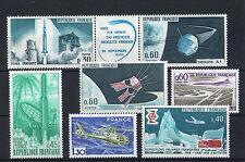 France 7 timbres non oblitérés gomme**  27 Espace