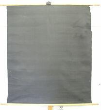 Schulwandkarte Wandkarte schwarzer Stoff 130 breit 146 hoch + Holzstäbe 130x146