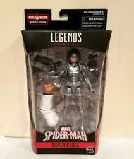 HASBRO MARVEL LEGENDS KINGPIN B.A.F SERIES SILVER SABLE W/QUEEN LILANDRAS HEAD