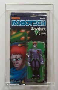 ROBOTECH Exedore 22 Back Matchbox 1985 MOC AFA UKG 70%