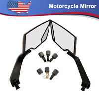 Motorcycle Rearview Side Mirrors Bar End 8mm 10mm For Honda Suzuki Yamaha Ducati