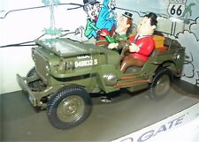 Gateway 01063, laurel & Hardy Ride on the Willy jeep, 1/18, neu&ovp