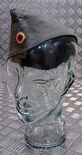 Original Militar Alemana Bundeswehr Piel de topo forraje Plana / envolvente Hat-Verde Oliva