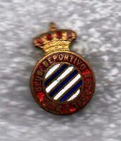 ESPANOL BARCELONA FUTBOL - INSIGNIA PIN BADGE BUTTONHOLE OJAL - VENDIMIA 1941