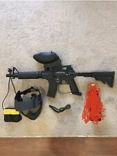 Tippmann US Army Alpha Black Elite Tactical Paintball Gun Package Kit