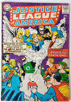 Justice League Of America #21 Silver Age DC Comics 1st Appearance of Earth-2 VG