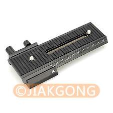 2 way Macro Shot Focusing Focus Rail Slider for CANON NIKON SONY Camera D-SLR