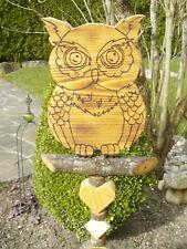 Holz Eulen für den Garten günstig kaufen | eBay