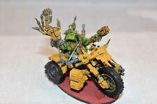 Warhammer Ork Painboy on Bike Custom Well Painted