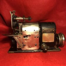 New ListingClean & Smooth! Old Merrow 60 E Industrial Belt Drive, Over Lock Sewing Machine