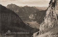 Postkarte - Obertraun / Ausblick v. Dachstein - Eishöhlen Eingang