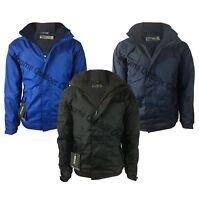 Mens Regatta Dover Hydrafort Waterproof Fleece Lined Jacket Outdoor Work Coat