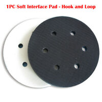 "6"" Interface Cushion Pad 150mm 6 Hole Hook and Loop Foam Protecting Sanding Disc"