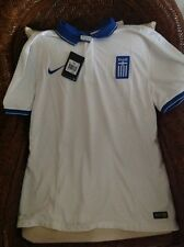 Nike Greece White Soccer Jersey Retail $ 90.00 New With Tags size 2XL mens