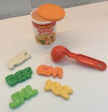 Fisher Price Fun With Food Alphabet Soup 5 Letters Can Ladle Play Pretend Food