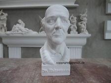 DOCTOR SAMUEL HAHNEMANN HOMÖOPATHIE 1755-1843GIPS BÜSTE SCHÖN NEU DEKO
