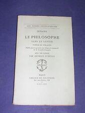 Librairie des bibliophiles imp. Jouaust  Sedaine Le philosophe 1880