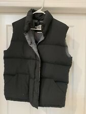 North Face Down Vest Large Euc