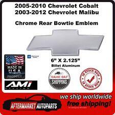 03-12 Chevrolet Malibu Chrome Billet Aluminum Bowtie Rear Emblem AMI 96139C