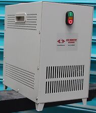 240V Single Phase to Three Phase 415V, ASA 3 HP rotary phase changer ,Converter