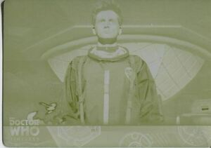 Doctor Who Timeless Yellow Printing Plate Base Card 68