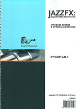 1175EBCD JAZZFX for Eb Bass and Tuba Treble Clef + CD by Dave Gale