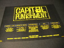 CAPITOL PUNISHMENT 1994 Promo Ad BEASTIE BOYS Hurricane SPEARHEAD Channel Live