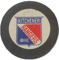 KITCHENER RANGERS OHL OFFICIAL HOCKEY PUCK INGLASCO MFG. MADE IN CANADA 🇨🇦